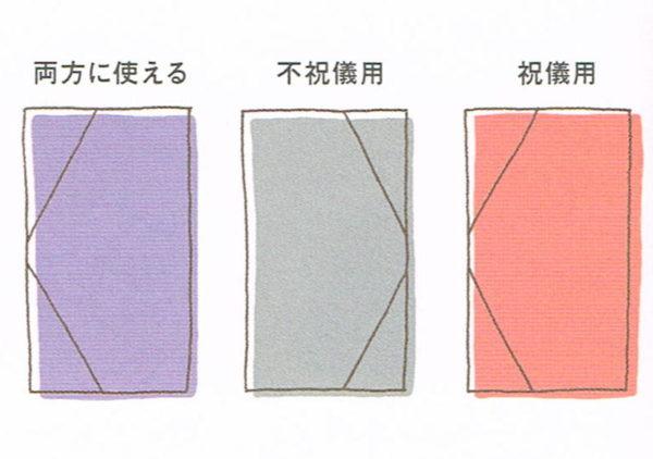 ふくさの色